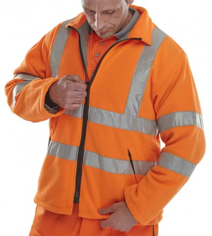 B-Seen CARF Carnoustie Hi-Visibility Fleece