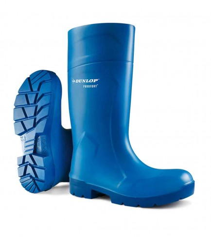 Dunlop CA61631 Purofort Multigrip Safety Welly Blue