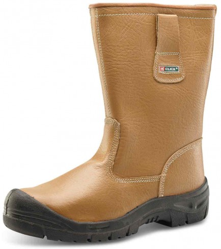 Click RBLSSC Rigger Boot Lined with Scuff Cap