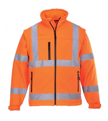 Portwest S424 Hi-Vis Softshell Jacket