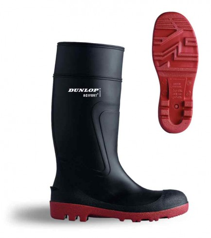 Dunlop D8864 Acifort Warwick Safety Wellington Black