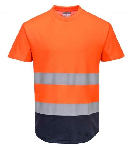Portwest C395 Two-Tone Mesh T-Shirt