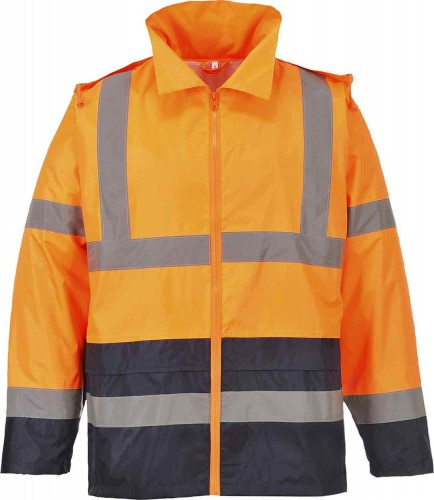 Portwest H443 Hi-Vis Classic Contrast Rain Jacket