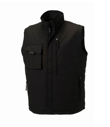 Russell Workwear 014M Gilet Black