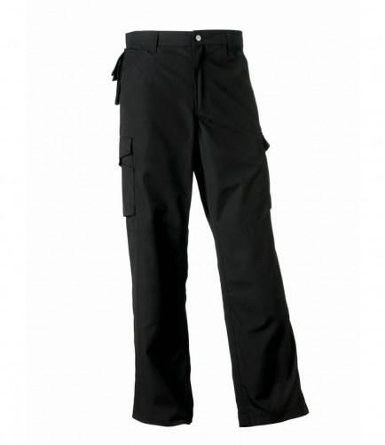 Russell Workwear 015M Heavy Duty Workwear Trousers Black