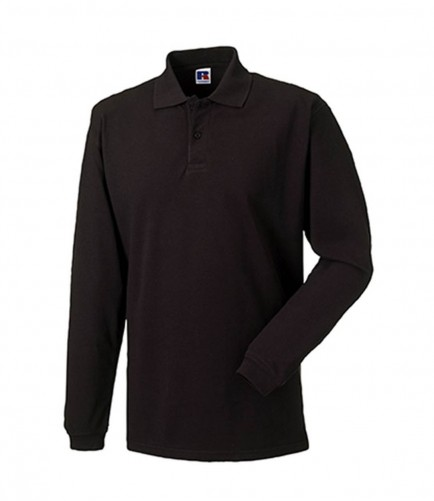 Russell 569LM Long Sleeve Pique Polo Shirt
