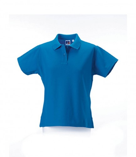 Russell 577F Ladies Ultimate Pique Cotton Polo Shirt