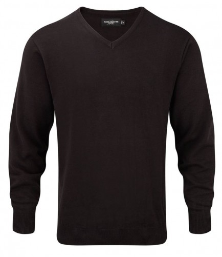 Russell Collection 710M V Neck Sweater