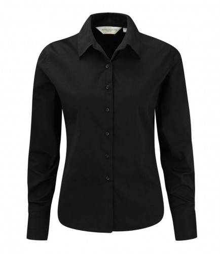 Russell Collection 916F Ladies Long Sleeve Classic Twill Shirt