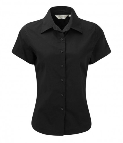 Russell Collection 917F Ladies Short Sleeve Classic Twill Shirt