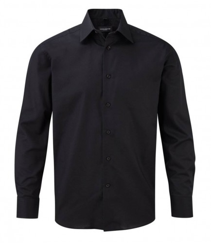 Russell Collection 922M Long Sleeve Tailored Oxford Shirt
