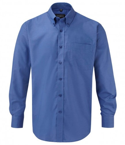 Russell Collection 932M Oxford Long Sleeve Shirt