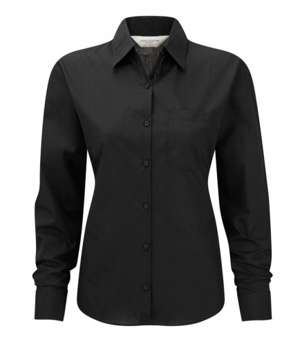 Russell Collection 934F Ladies Long Sleeve Shirt