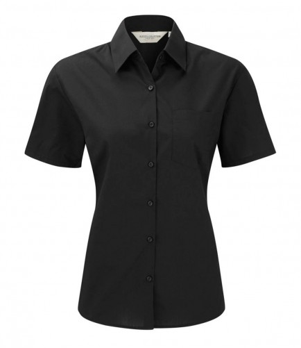 Russell Collection 935F Ladies Short Sleeve Shirt