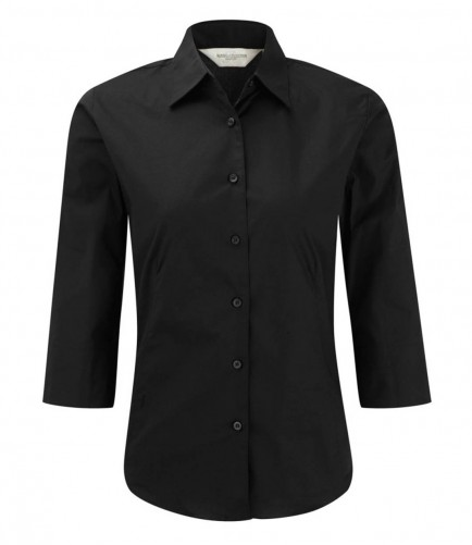 Russell Collection 946F 3/4 Sleeve Easycare Shirt