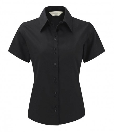 Russell Collection 957F Ladies Short Sleeve Ultimate Non-Iron Shirt
