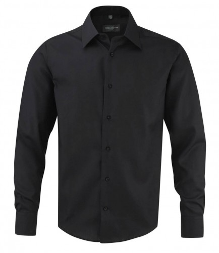 Russell Collection 958M Long Sleeve Tailored Ultimate Non-Iron Shirt