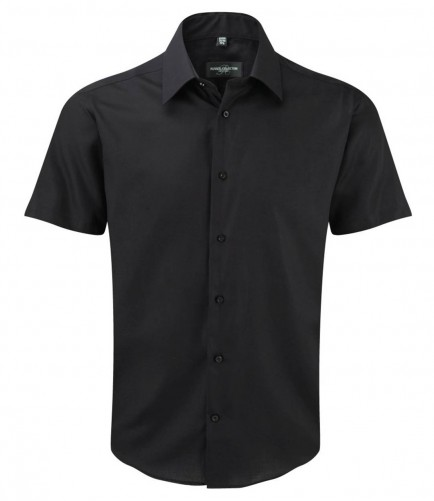 Russell Collection 959M Short Sleeve Tailored Ultimate Non-Iron Shirt