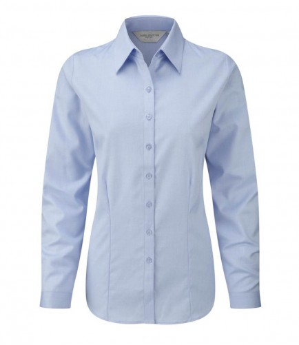 Russell Collection 962F Ladies Herringbone Shirt