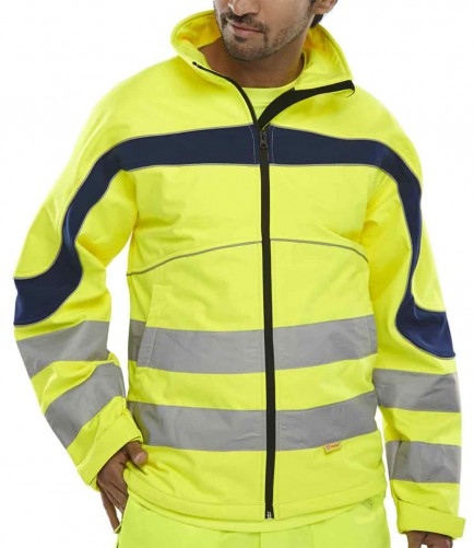 B-Seen ET40SY Eton Soft Shell Jacket