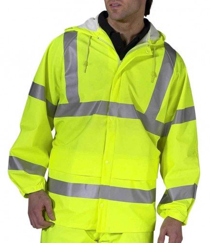 B-Seen PUJ471 Super Unlined Breathable Hi-Viz Jacket