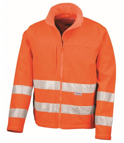 Result RS117 Hi-Vis Softshell