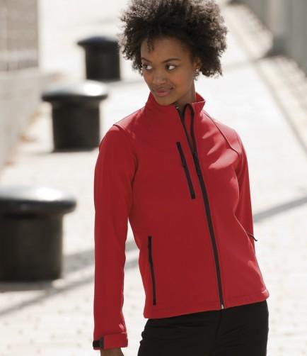 Jerzees 140F Ladies Soft Shell Jacket