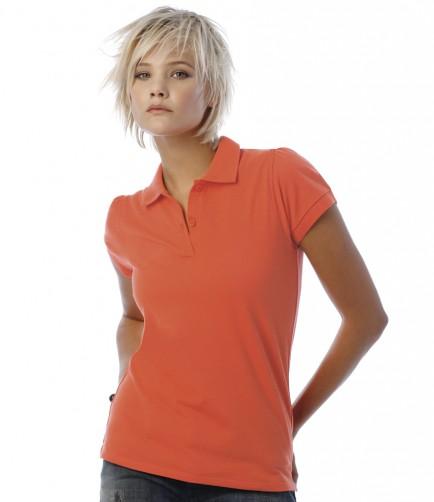 B&C BA305F Ladies Heavymill Pique Polo Shirt