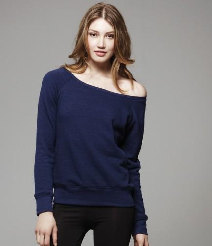 Bella BL7501 Slouchy Wide Neck Sweatshirt