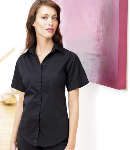 Premier PR342 Ladies Short Sleeve Fil-a-