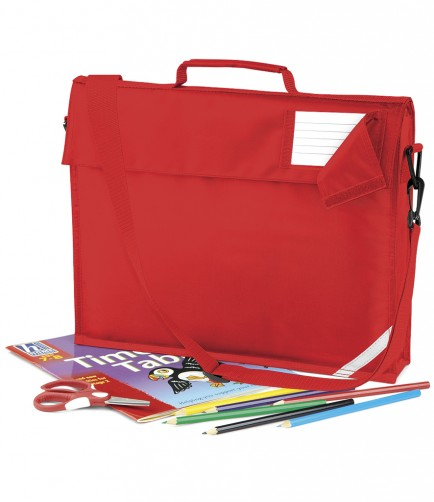 Quadra QD457 Book Bag with strap
