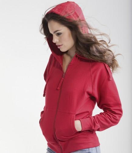 Skinni Fit SK50 Ladies Zip Hoodie Jacket