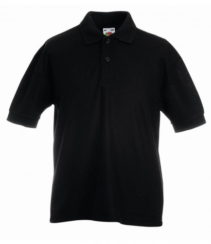 Fruit of the Loom SS11B Kids Pique Polo