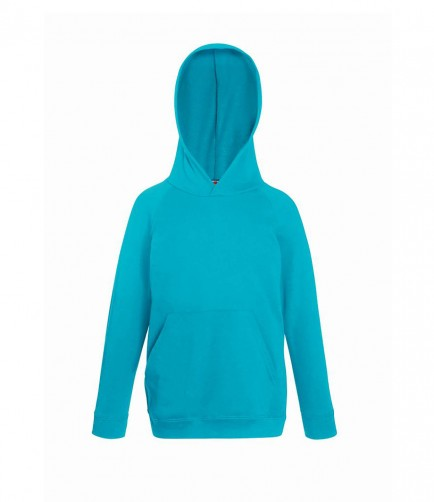 Fruit of the Loom SS121B  Kids Lightweight Hooded Sweatshirt
