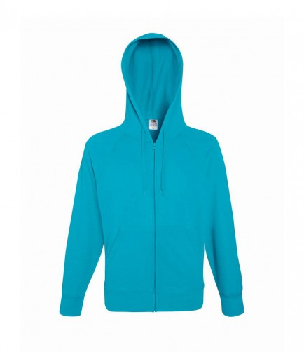 Fruit of the Loom SS122  Lightweight Zip Hoody Sweatshirt