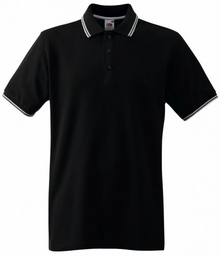 Fruit of the Loom SS25  Tipped Polo