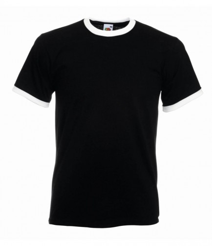 Fruit of the Loom SS34 Contrast Ringer T