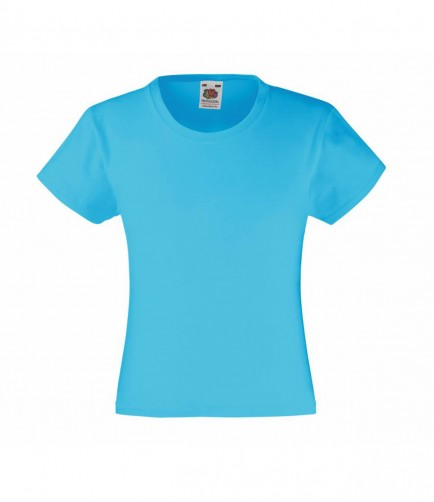 Fruit of the Loom SS77B  Girls Value T-Shirt