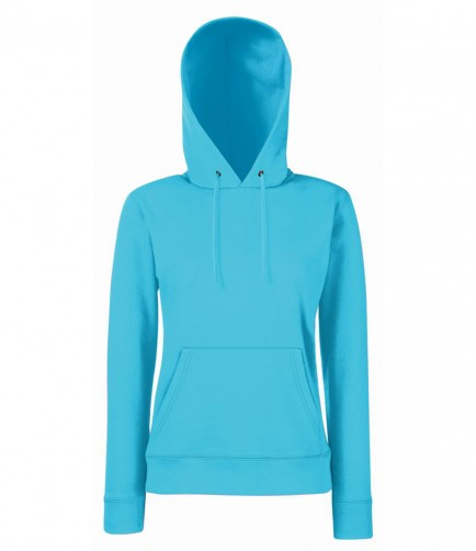 Fruit of the Loom SS801  Lady Fit Hooded Sweatshirt