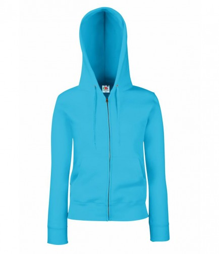 Fruit of the Loom SS82  Lady-Fit Hood Sweatshirt Jacket