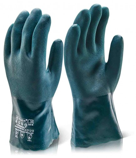 Click 2000 Pvc Double Dip Gauntlet Pack of 10