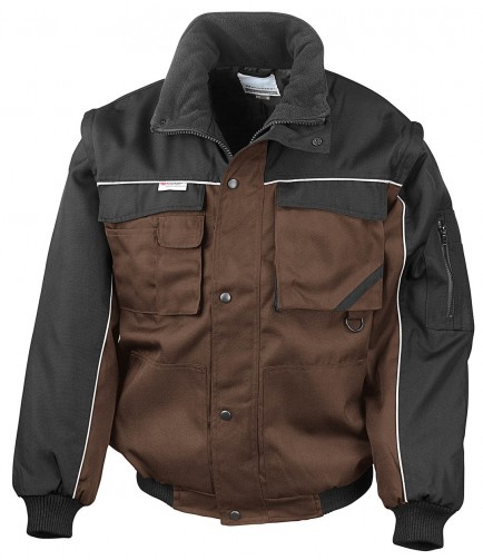 Result RS71 Work Guard Zip Sleeve Pilot Jacket