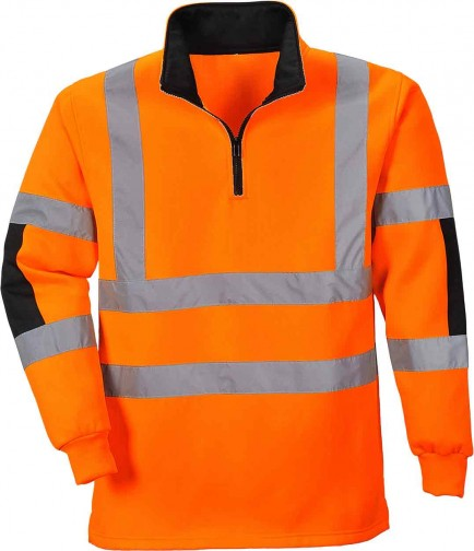 Portwest B308 Xenon Rugby Shirt