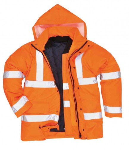 Portwest S468 Hi-Vis 4-in-1 Traffic Jacket
