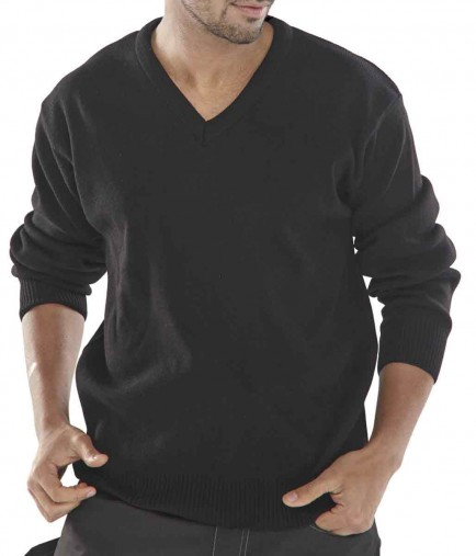 Click ACSV Acrylic Sweater V-Neck