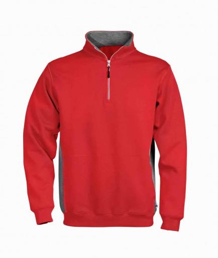 Acode 1705 Short Zip Sweatshirt