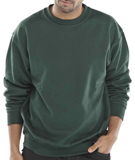 Click CLPCS Leisurewear Polycotton Sweatshirt