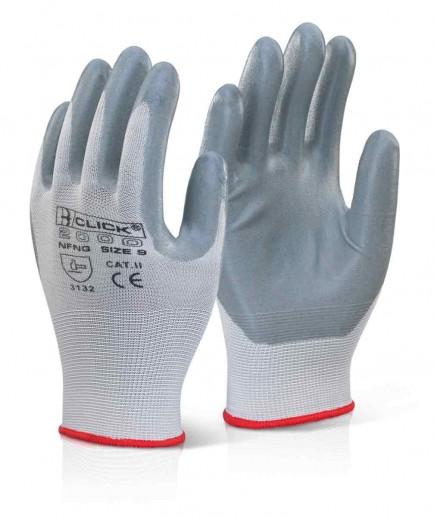 Click 2000 NFNG Nitrile Foam Nylon Glove