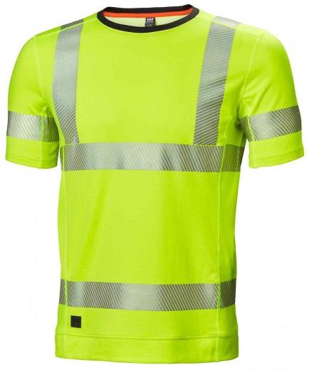 Helly Hansen 75113 Hh Lifa Active Hi Vis T-Shirt
