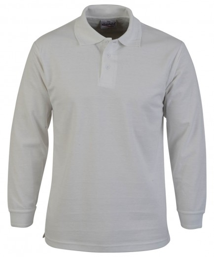 Absolute Apparel AA107 Long Sleeve Polo Shirt